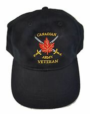 Canadian Army Veteran Cap