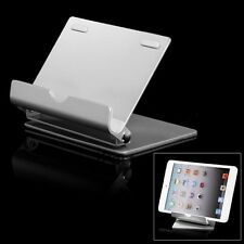 Aluminum Metal Tablet Desk Holder Stand for iPad Samsung iPhone 6 5 Kindle Phone