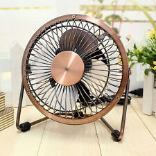 USB PC Laptop Computer Portable Antique Mini Fan Table Desk Cooler Cooling Items
