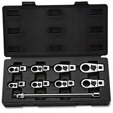 9 Pc. Case IH SAE Crowfoot Wrench Set - 3/8 Drive