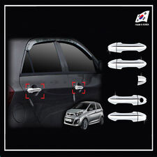 Chrome Door Handle Cover Molding For 2011 2012 2013 2014 Kia Picanto :Morning