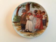 Here Comes The Bride Knowles Fourth 4th Collector Plate Friends I Remember 1985
