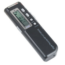 HQ Digital Dictaphone Voice Recorder 4GB Record Mp3 Loudspeaker Lectures Audio