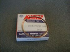 YAMAHA 2nd Over Bore Piston Ring (.50mm) NOS OEM #2K6-11611-10-00 fits YZ125