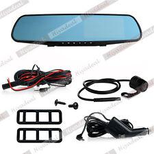 """4.3"""" FHD 1080P coche DVR Camara Digital Grabadora De Video Espejo Retrovisor"""
