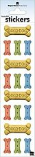 Stickers Paper House Stickers Slims Good Dog Biscuits Blue Green Red Tan Treats