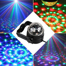 3W RGB LED Stage Light Magic Rotating Ball Effect Projector for Club Party Decor