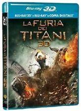 Blu Ray LA FURIA DEI TITANI - 2012 - (Blu-Ray 3D+Blu-Ray+Copia Digitale) ..NUOVO