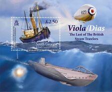 South Georgia 2015 Viola/Dias Last SteamTrawler 1v MS MNH