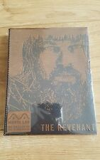 THE REVENANT BluRay Steelbook Manta-Lab Exclusive Leather Slip OOP OOS