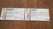 rare lady gaga artrave 15 october 2014 birmingham pair used tickets