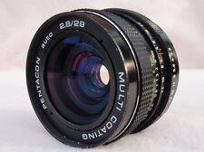 Pentacon 29mm f2.8 M42 l'obiettivo possibile adattare Pentax K, Canon EOS, EST tedesco di qualità!
