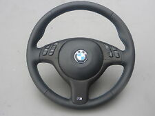 new! Leather Steering wheel BMW E46 E39 M with slot Multifunct. and Airbag (2)