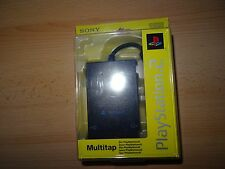 Official Sony BLACK MULTITAP for the Original Fat PS2  Multi Tap SEALED