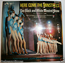 "1966 Here Come the Minstrels BBC Minstrel Show Tracks Vintage 12"" Vinyl Record"