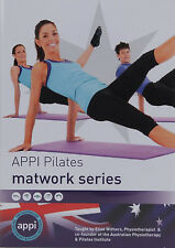 APPI Pilates 3 DVD Matwork Series Exercise Workout Posture Core Strength Back