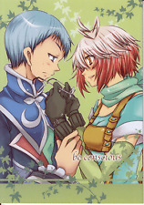 Tales of Graces Doujinshi Dojinshi Comic Umitsuki Mirui Pascal x Hubert be consc