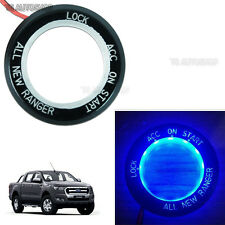Blue LED Ring Start On/Off Key Remote Fit Ford Ranger T6 Mk2 WildTrak 2012-2017