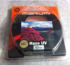 52mm Multi-Coated  MC UV HAZE Lens  Protector Filter Genuine Marumi Japan 52 mm