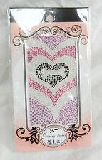 Etiqueta engomada del corazón de la joyería de múltiples para teléfono móvil, laptop, etc-Nuevo Y En Caja
