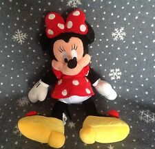 "Disneyworld grande minnie mouse 18"" tall soft plush toy"