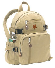 VINTAGE SMALLER VERSION OF STAR BACKPACK - KHAKI