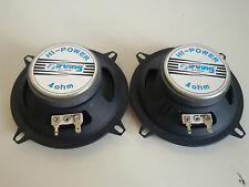 NEW Vintage IRVING HI-POWER 4Ohm Coppia Altoparlanti Speaker AUTO Tuning NUOVI