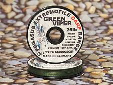 Vorfachschnur Vorfachmaterial Karpfenvorfach Rig Semi-Stiff 20m green   1m/0,49€