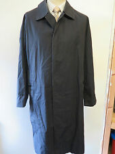 "Genuine Vintage Burberry Prorsum Navy Blue Raincoat Coat Mac Size  42"" Euro 52 R"