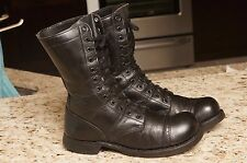 CORCORAN paratrooper Field Combat Cap Toe Military Biker Leather Boots sz 7 E
