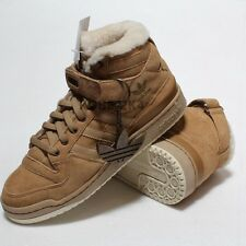 $800 ADIDAS VINTAGE FORUM HI SHEEPSKIN SHEEP OUT OF 500 BAPE MEN US SZ 9.5