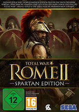 "Neu in Folie: TOTAL WAR ROME II 2 ""SPARTAN EDITION"" PC"