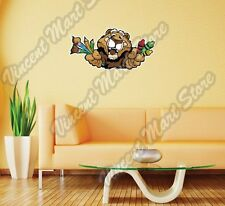 """Cougar Crayons Paint brushes Gift Idea Wall Sticker Room Interior Decor 25""""X13"""""""