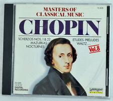 Masters of Classical Music, Vol. 8: Chopin (CD, Oct-1990, Laserlight)
