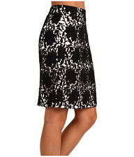 Kate Spade Judy Black  Lace Lined Elegant Pencil Skirt . NWT  Sz.4