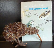 Molly Falla: A Sketchbook of New Zealand Birds + Kiwi Bird handmade by author