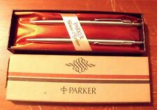 PARKER CLASSIC FLIGHTER BALLPOINT  PEN &  0.9  PENCIL SET NEW IN BOX MADE IN USA