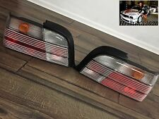 BMW E36 Coupe Convertible BN Rear EURO Tail Lights Set Clear ALL CLEAR Rare