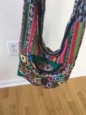 Urban Outfitters Floral Bright Multi Messenger Bag Purse Multi