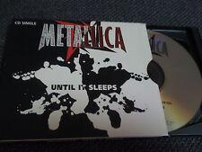 METALLICA / until it sleeps /  USA LTD CD, single