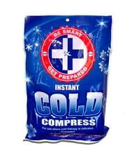 Lot of 24 Packs - BE SMART First Aid Instant Cold Compress Ice Packs