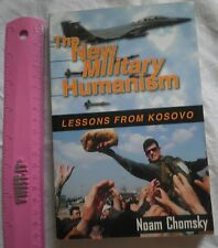 KOSOVO Book,NATO New Military Humanism,Noam Chomsky,Serbia Yugoslavia,new world
