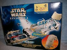 Battle Droid Trade Federation Control Ship Transforms STAR WARS Micro Machines