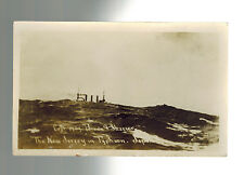Mint Color Postcard US Navy RPPC USS New Jersey in Typhoon at sea in Japan 1909