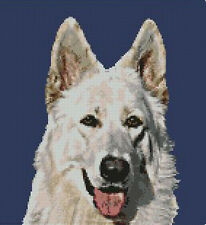 "White Shepherd Counted Cross Stitch Kit 10"" x 11"" D2144"