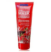 FREEMAN Facial Clay Mask Chocolate & Strawberry - Deep Pore Cleansing - 150ml