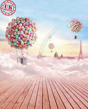 Dream candy ciel papier peint toile de fond fond vinyle photo prop 5X7FT 150x220CM