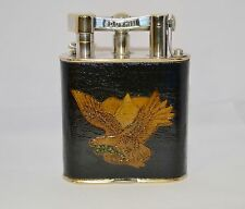 Vintage Alfred Dunhill Giant life arm leather wrap  Lighter in Working Condition
