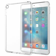 iPad Mini 4 Case Silicone Cover Soft Frosted Clear Flexible Bumper Protector