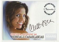 Veronica Mars Season 2 Autograph card Charisma Carpenter/Casablacas auto A-19